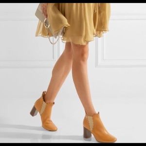Chloe Lauren Scalloped Boots